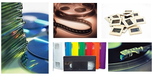 Convert Audio, Video, ald Slides to DVD