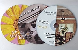 Digitally Printed CDs